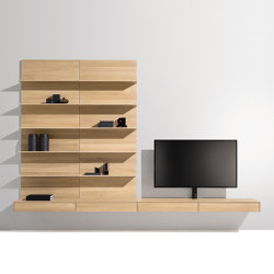 filigno living | Wall storage systems | TEAM 7