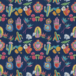 Mexican Folk | Wall coverings / wallpapers | LONDONART