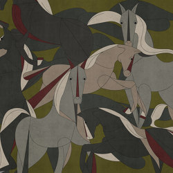Murgese Horses | Wall coverings / wallpapers | LONDONART