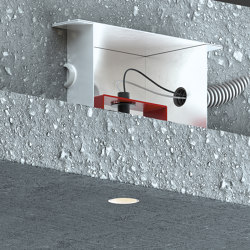 Genius Concrete | Recessed ceiling lights | Buzzi & Buzzi