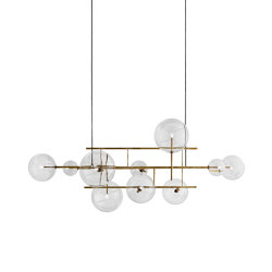 Bolle Orizzontale | Suspended lights | Gallotti&Radice