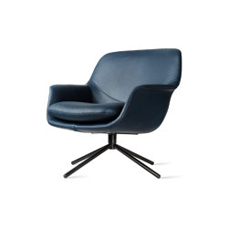 Smile Lounge Low Back Metal Base | Poltrone | ICONS OF DENMARK