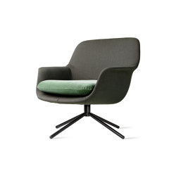 Smile Lounge Low Back Metal Base | Sillones | ICONS OF DENMARK