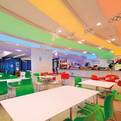 Our lightings solutions | Barrisol Lumière Color® | Suspended ceilings | BARRISOL