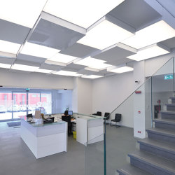 Our lightings solutions | Barrisol® Illuminated light boxes | Suspended ceilings | BARRISOL
