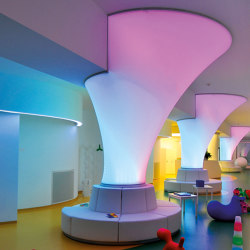 Our solutions for interiors | Barrisol® Column 3D | Luminous walls | BARRISOL
