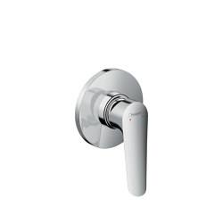 Logis E Single lever shower mixer for concealed installation | Bath taps | Hansgrohe