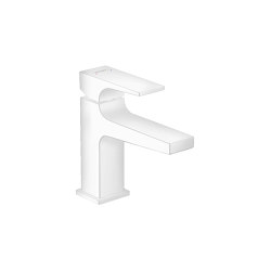 hansgrohe Metropol Single lever basin mixer 100 with lever handle and push-open waste set for hand washbasins | Wash basin taps | Hansgrohe