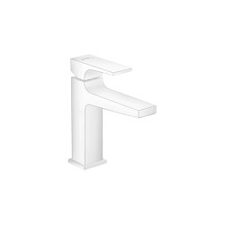 hansgrohe Metropol Single lever basin mixer 110 with lever handle and push-open waste set | Wash basin taps | Hansgrohe