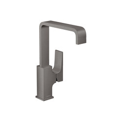 hansgrohe Metropol Single lever basin mixer 230 with lever handle and push-open waste set   Wash basin taps   Hansgrohe