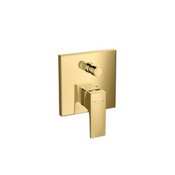 hansgrohe Metropol Single lever bath mixer with lever handle for concealed installation | Bath taps | Hansgrohe