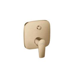hansgrohe Talis E Mezclador monomando de bañera empotrado con combinación de seguridad   Grifería para bañeras   Hansgrohe