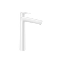 hansgrohe Talis E Single lever basin mixer 240 with pop-up waste set | Wash basin taps | Hansgrohe