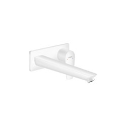 hansgrohe Talis E Single lever basin mixer for concealed installation with spout 225 mm wall-mounted | Wash basin taps | Hansgrohe