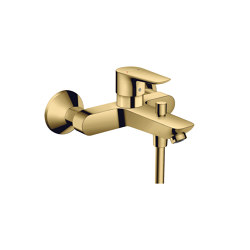 hansgrohe Talis E Single lever bath mixer for exposed installation | Bath taps | Hansgrohe