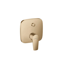 hansgrohe Talis E Single lever bath mixer for concealed installation | Bath taps | Hansgrohe