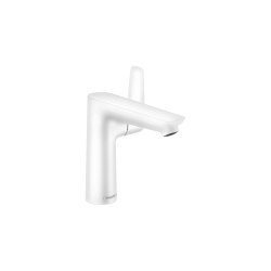 hansgrohe Talis E Single lever basin mixer 150 with pop-up waste set | Wash basin taps | Hansgrohe