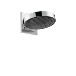 hansgrohe Rainfinity Overhead shower 250 1jet EcoSmart with wall connector | Shower controls | Hansgrohe