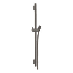 hansgrohe Unica Shower bar S Puro 65 cm with shower hose | Bathroom taps accessories | Hansgrohe