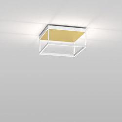 REFLEX² M 150 White | Pyramid Gold | Lampade plafoniere | serien.lighting