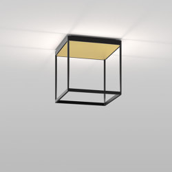 REFLEX² M 300 Black | Pyramid Gold | Lampade plafoniere | serien.lighting