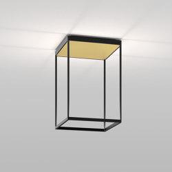 REFLEX² M 450 Black | Pyramid Gold | Lampade plafoniere | serien.lighting