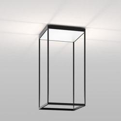 REFLEX² M 600 Black | Pyramid White | Lampade plafoniere | serien.lighting