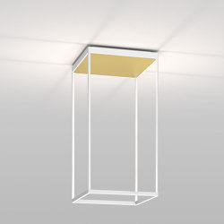 REFLEX² M 600 White | Pyramid Gold | Lampade plafoniere | serien.lighting