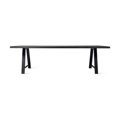 Achille dining table black A base | Dining tables | Vincent Sheppard