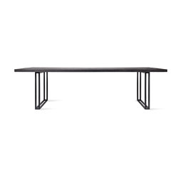 Achille dining table black square base | Dining tables | Vincent Sheppard