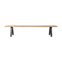 Albert bench black base | Benches | Vincent Sheppard