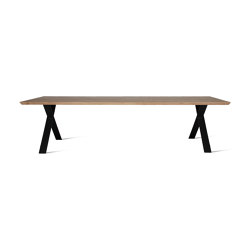 Albert dining table black X base | Dining tables | Vincent Sheppard