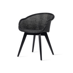 Avril dining chair black wood base | Chairs | Vincent Sheppard