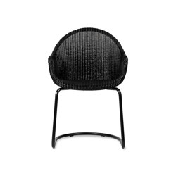 Avril HB dining chair black cantilever base | Chairs | Vincent Sheppard