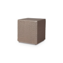 Cube ottoman/side table | Side tables | Vincent Sheppard