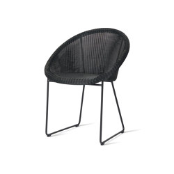 Gipsy dining chair black base | Sedie | Vincent Sheppard