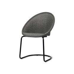 Jack dining chair black cantilever base | Stühle | Vincent Sheppard