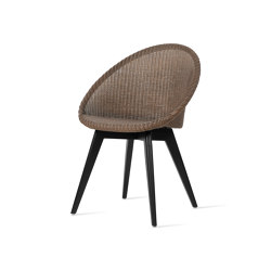 Jack dining chair black wood base | Chairs | Vincent Sheppard