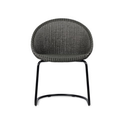 Joe dining chair black cantilever base   Stühle   Vincent Sheppard