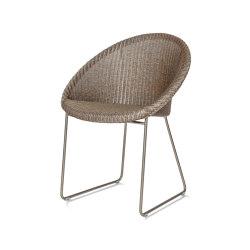 Joe dining chair matt sled base | Stühle | Vincent Sheppard