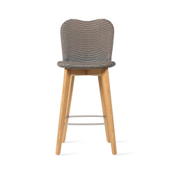 Lily counter stool oak base | Bar stools | Vincent Sheppard