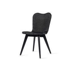 Lily dining chair black wood base | Stühle | Vincent Sheppard