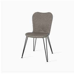Lily dining chair hairpin base | Chairs | Vincent Sheppard