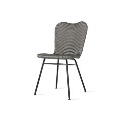 Lily dining chair steel A base | Stühle | Vincent Sheppard