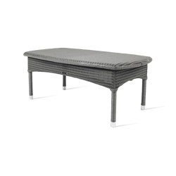 Outdoor Lloyd Loom Dovile coffee table | Couchtische | Vincent Sheppard