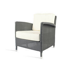 Outdoor Lloyd Loom Dovile lounge chair | Sessel | Vincent Sheppard
