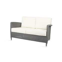Outdoor Lloyd Loom Dovile lounge sofa 2S | Sofás | Vincent Sheppard