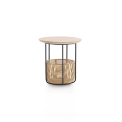 Basket side table small | Contenitori / Scatole | Vincent Sheppard