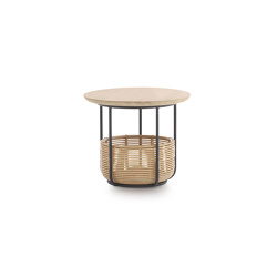 Basket side table medium | Behälter / Boxen | Vincent Sheppard