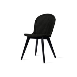 Yann dining chair black wood base | Stühle | Vincent Sheppard